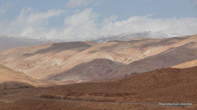 La Vallée de l'Ounila et la Casbah de Tamdakht