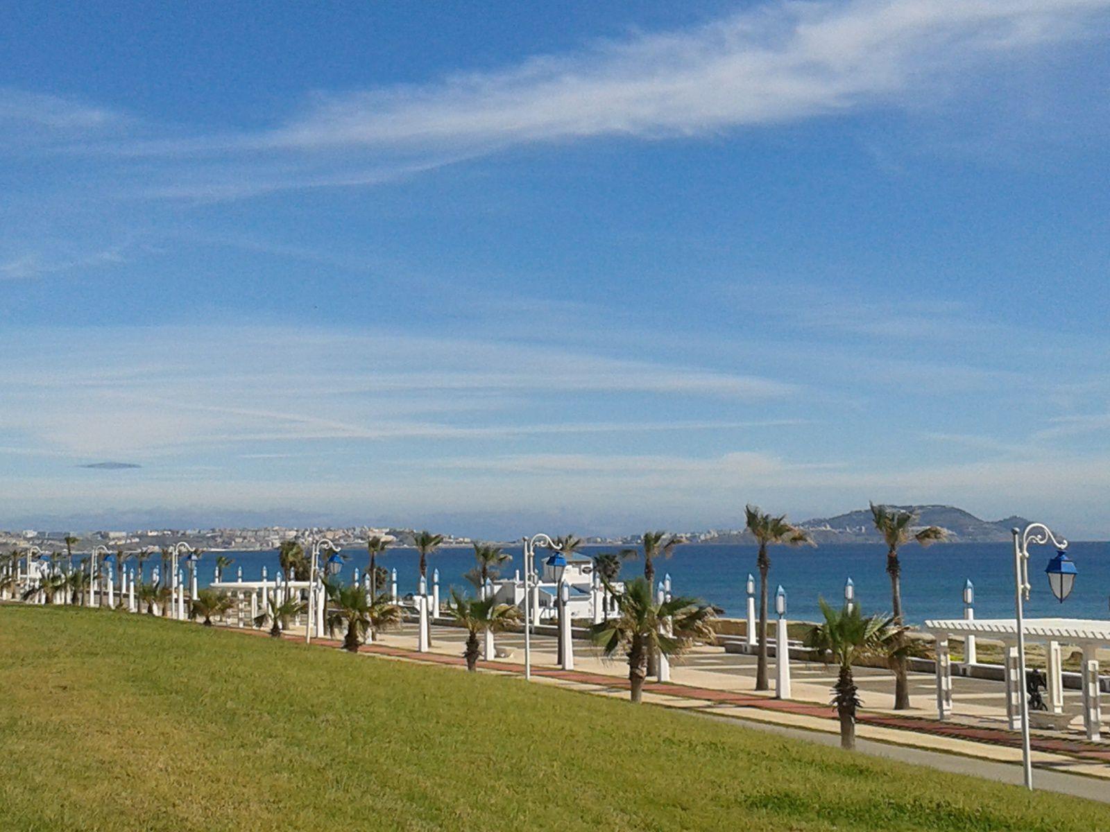 Paysage à la Sortie de Martil - Paysage entre Martil et Ceuta