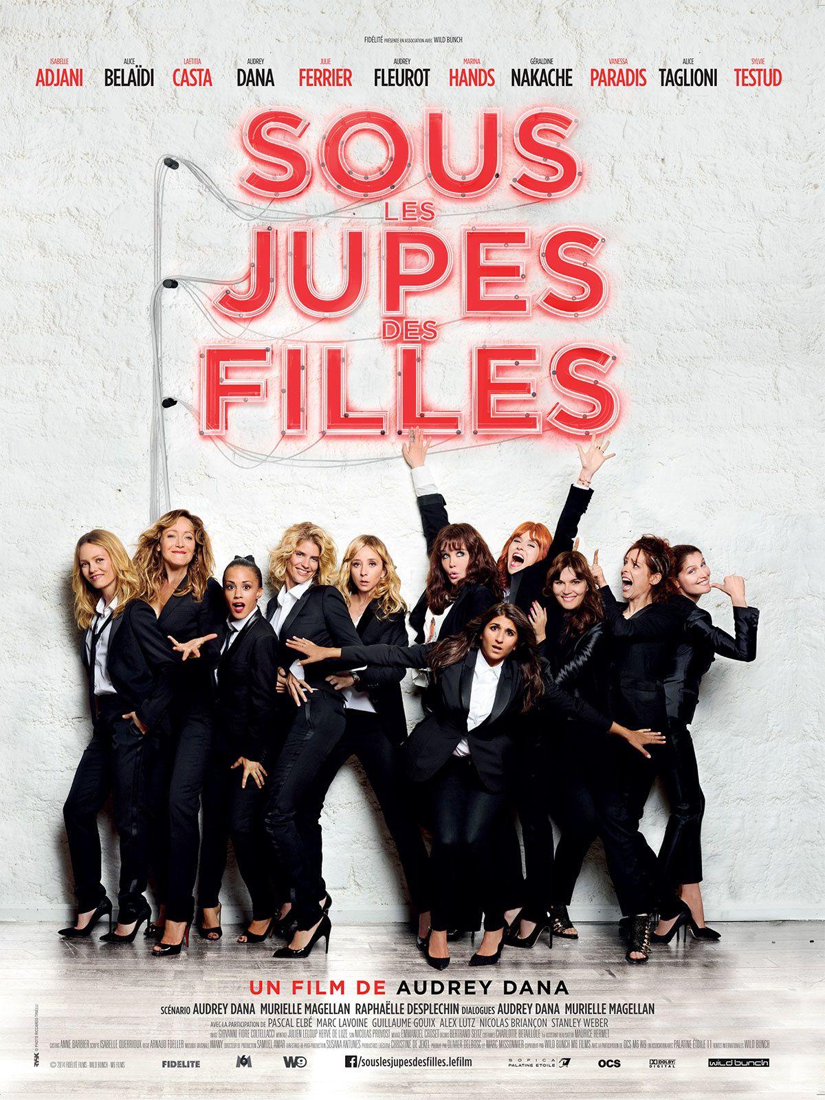 """""""Sous les jupes des filles"""" traite bien des préoccupations des femmes et de leur rapport au sexe, et en plus c'est drôle... Actuellement au cinéma !"""