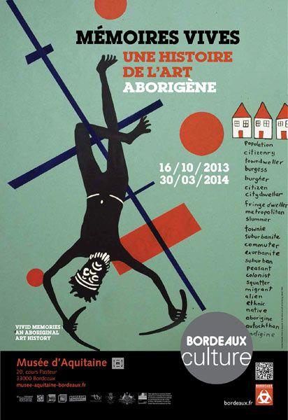 Conférence &quot&#x3B;Des récits sur sable aux toiles : un art rituel, politique et numérique&quot&#x3B;, au musée d'Aquitaine  - Bordeaux , le 4 mars 2014