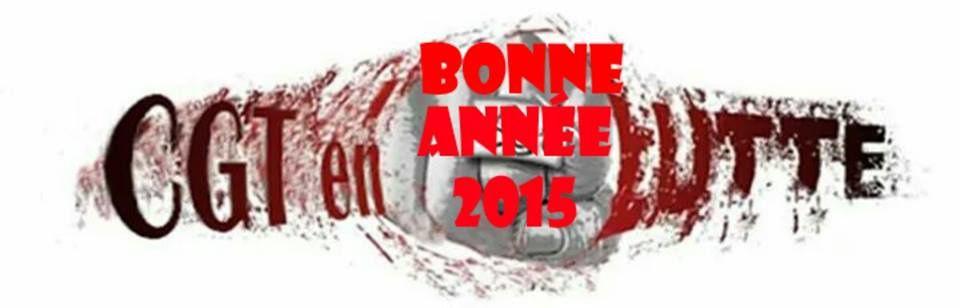 LA CGT ENDEL VOUS SOUHAITE UNE BONNE ANNEE 2015