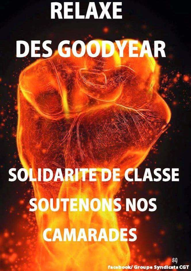 ENDEL ENGIE SOLIDAIRE DES 8 SALARIES GOODYEAR