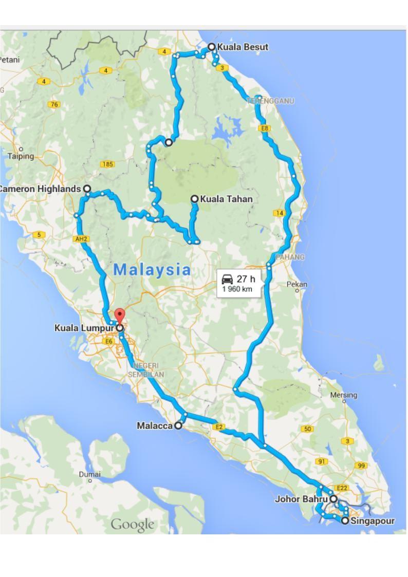 Retour en Asie du Sud-Est : Malaisie - Singapour