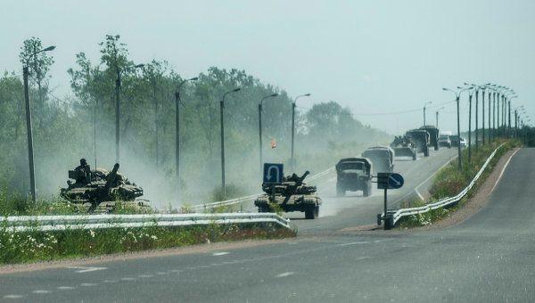 Ukraine: une colonne de blindés en déroute près de Lougansk