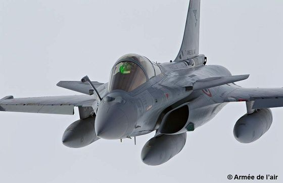Armement - Le Rafale de Dassault Aviation attend son premier contrat à l'export (Crédits : Armée de l'air)