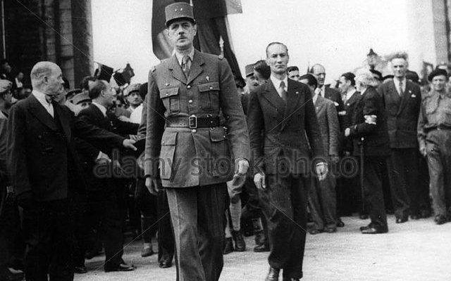Le Général Charles de Gaulle a toujours été profondément méfiant envers les motivations américaines | CREDIT: ALAMY