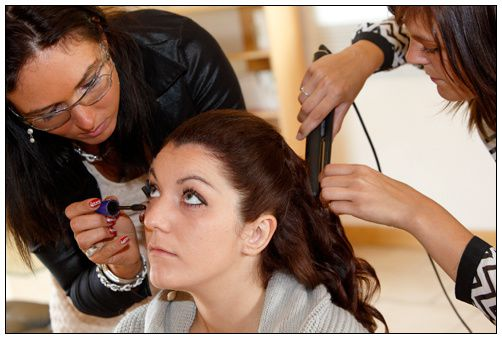 coiffeuse et maquilleuse