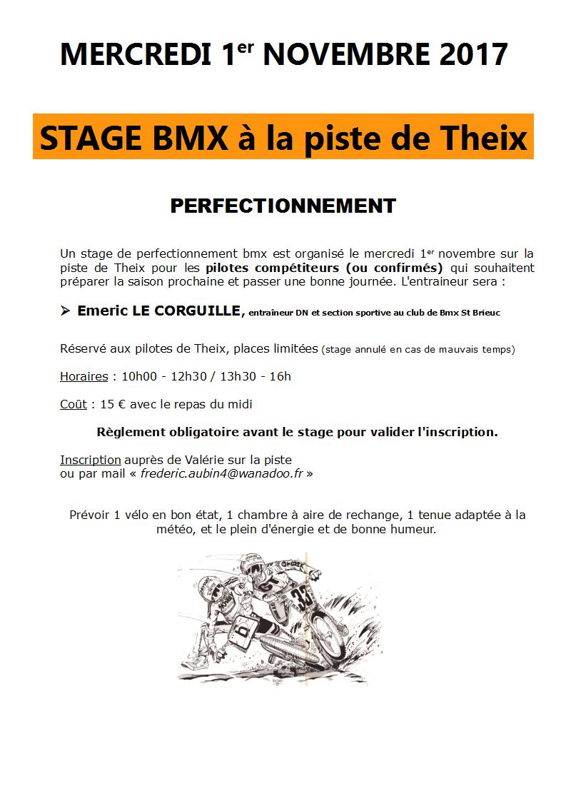 STAGES BMX AUX VACANCES