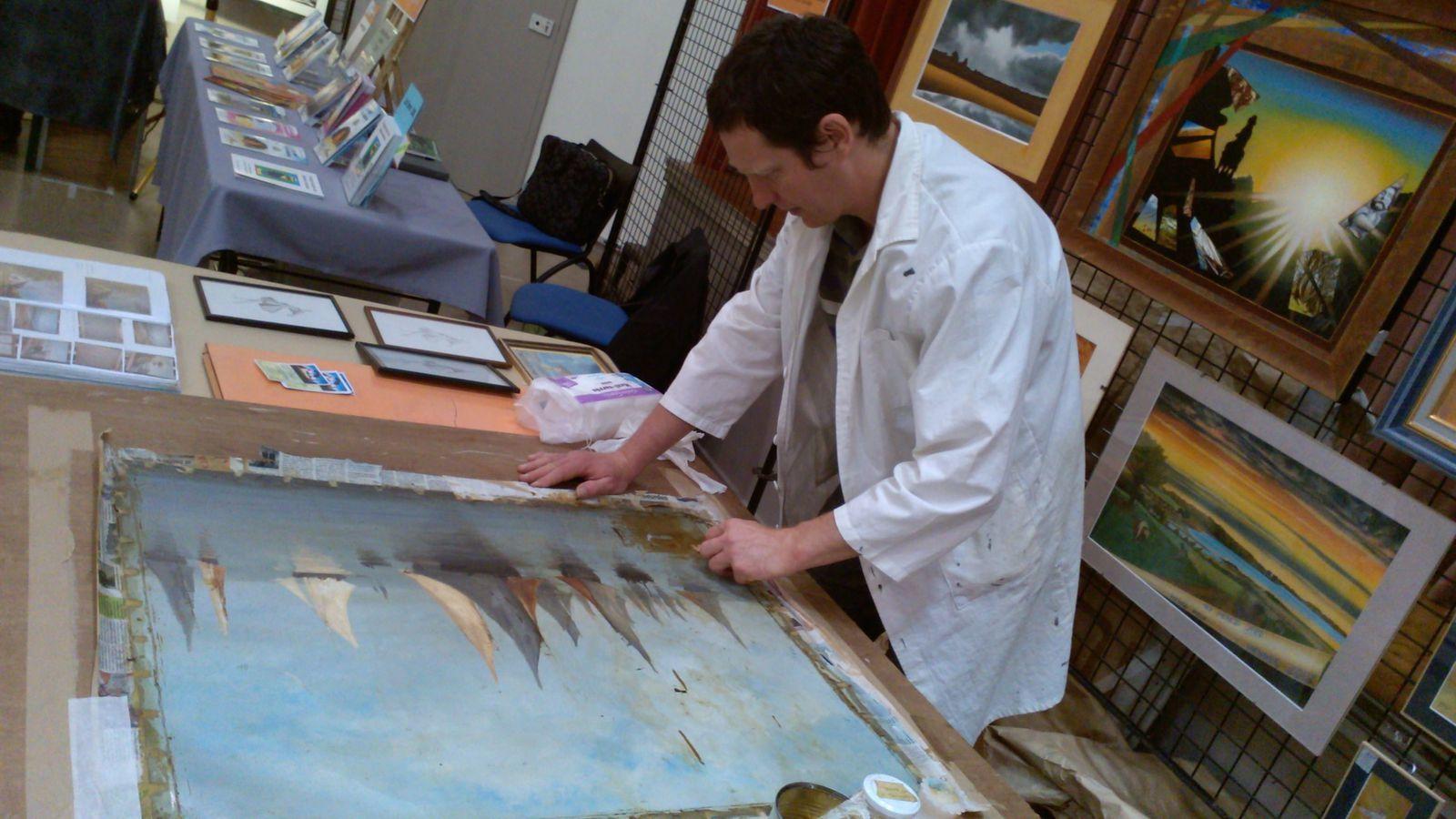 David MOREAU - Restaurateur de tableaux