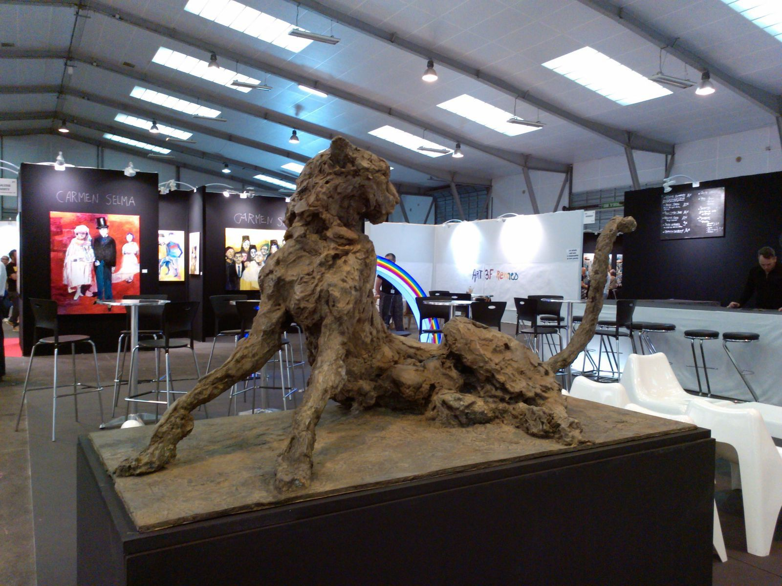 Salon ART3F ART CONTEMPORAIN à Rennes 2015 - Lawrence Wiland-Scordia