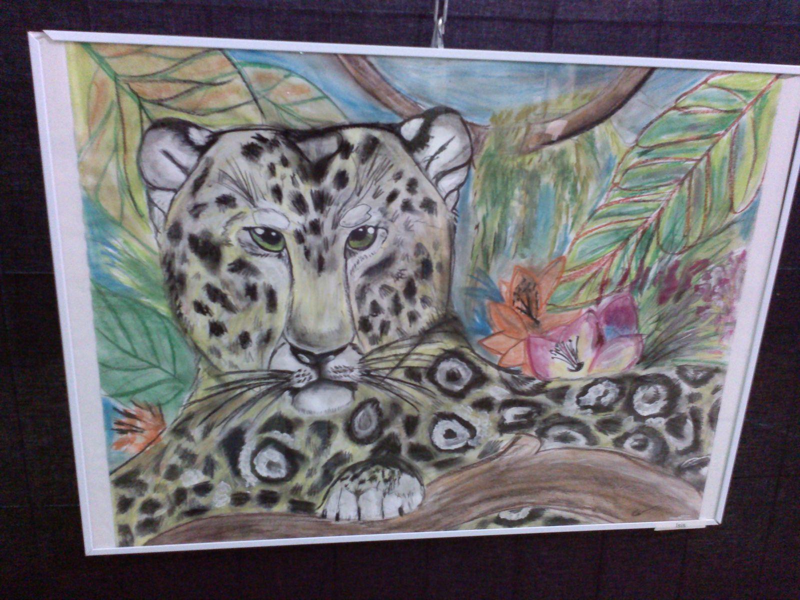 Cherchons le chat au salon des artistes de pontivy 2016