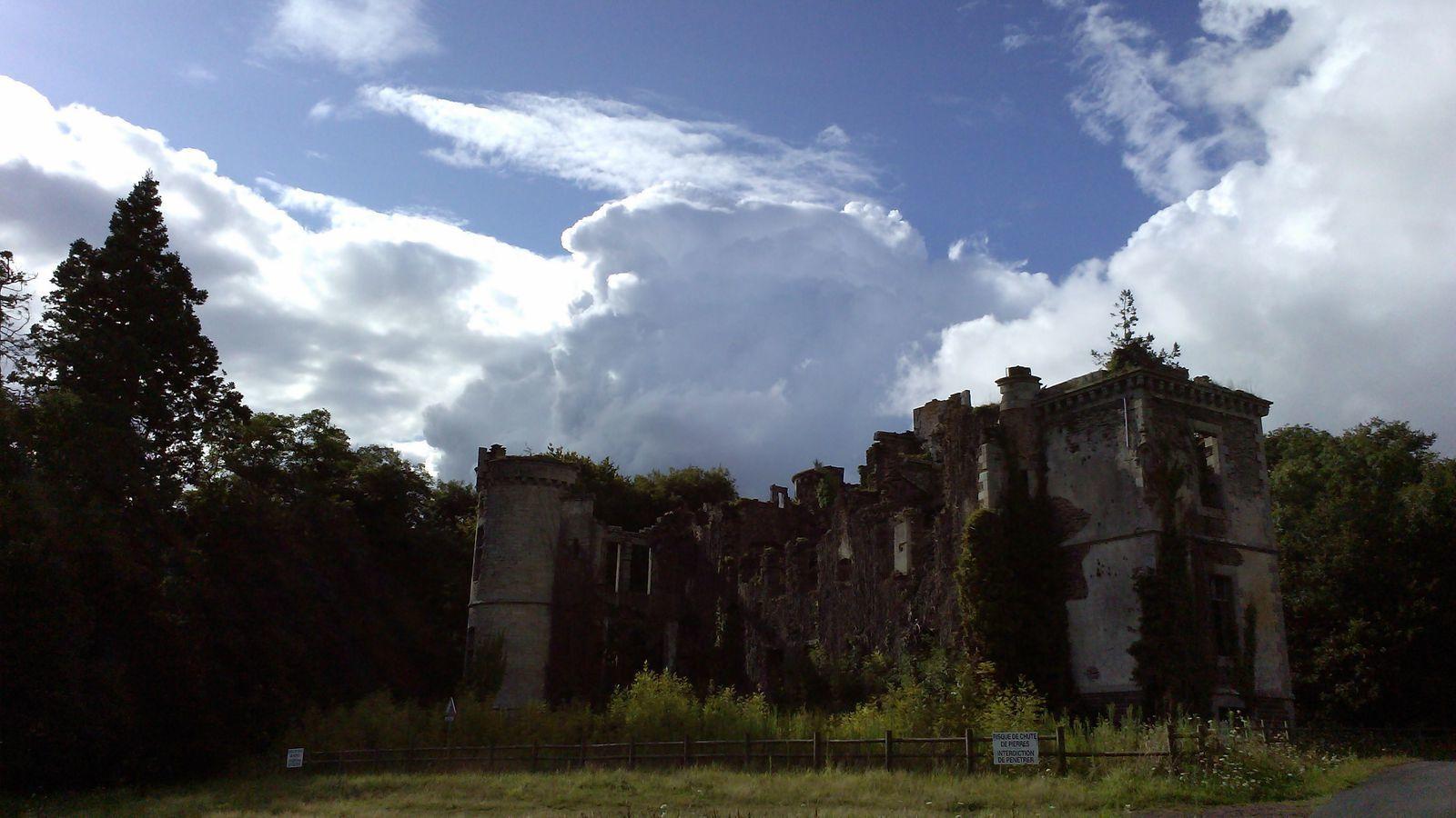 Les photos du 10/08/2016 : les ruines du château du Bois du Loup à Augan