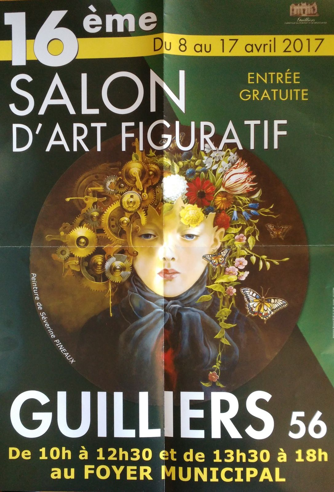 Installation Salon des Arts de Guilliers 2017