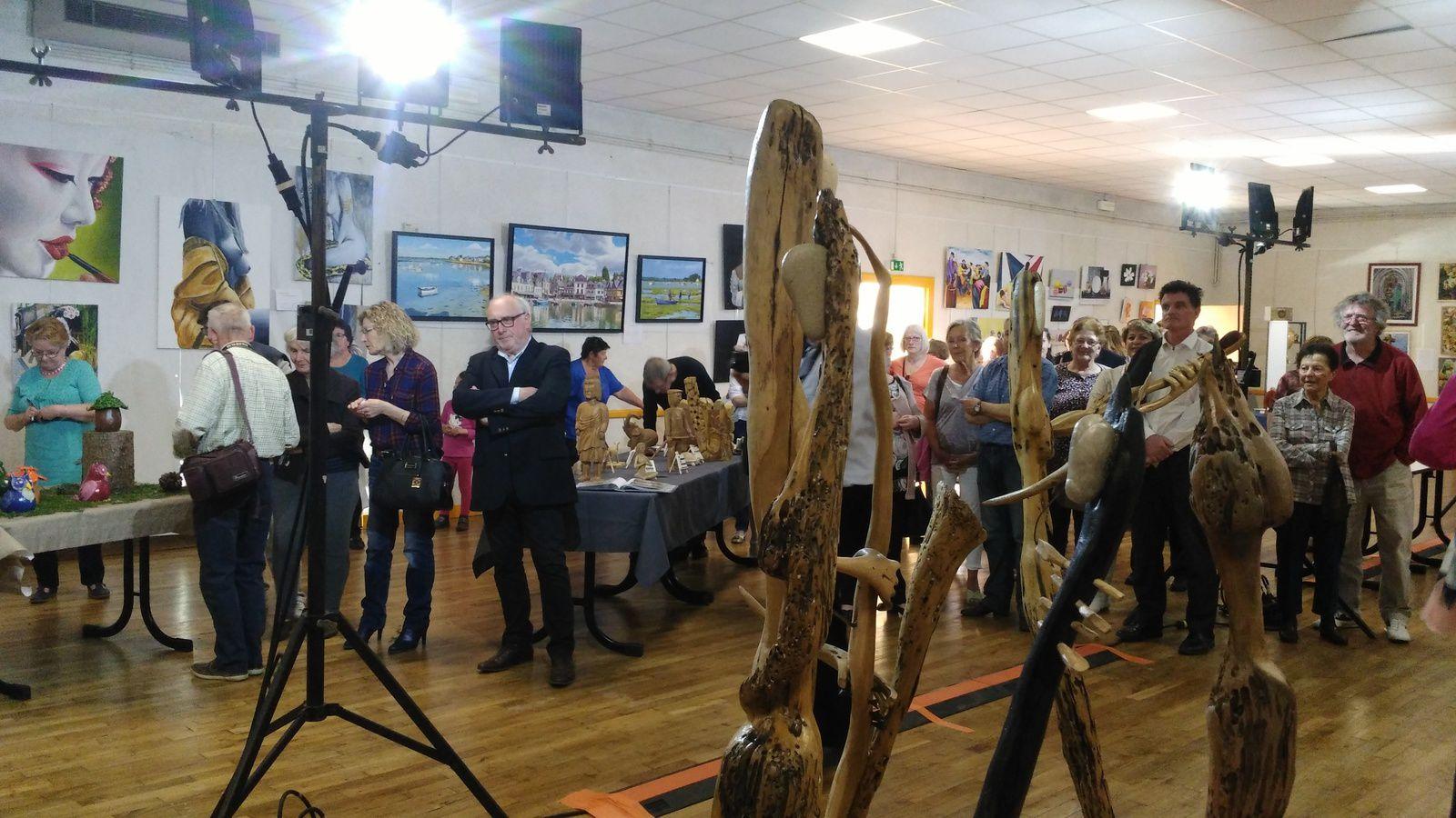 Guilliers - Salon des Arts Figuratifs 2017 - Le vernissage