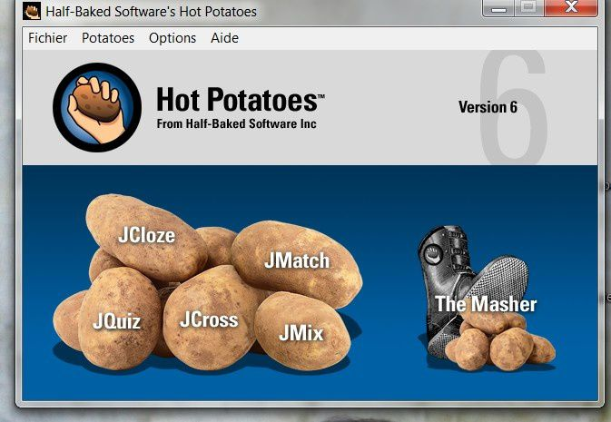 Insérer un exercice hot potatoes sur over-blog ...