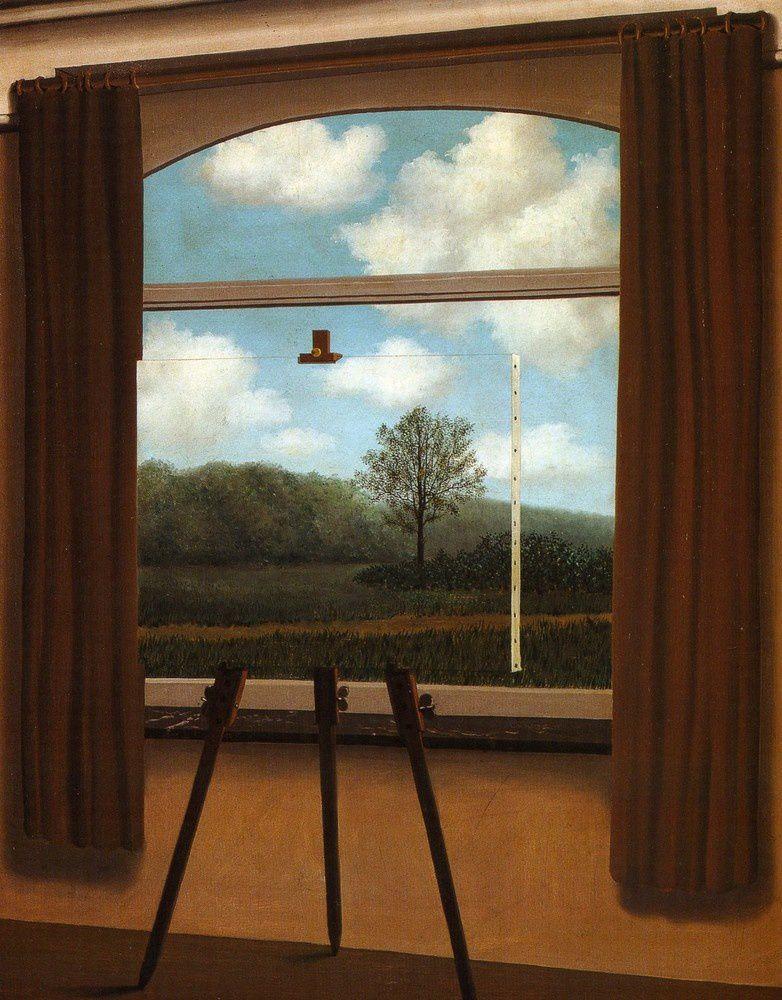 ( La Condition Humaine : René Magritte - 1933 )