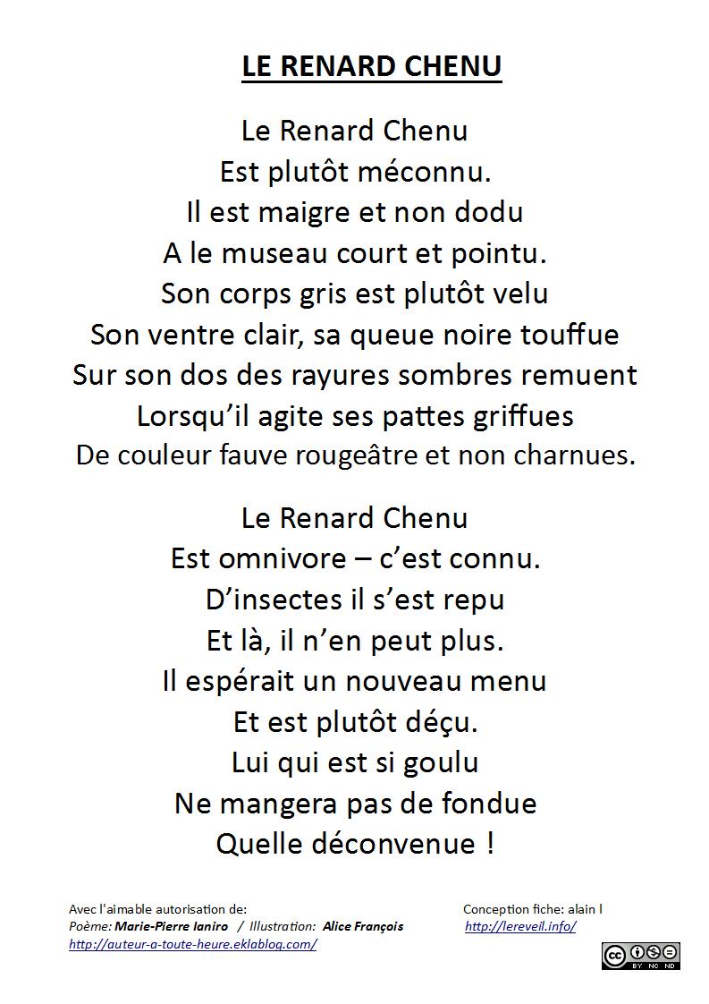 Les animots rigolos : le son [y] ... les poèmes ...