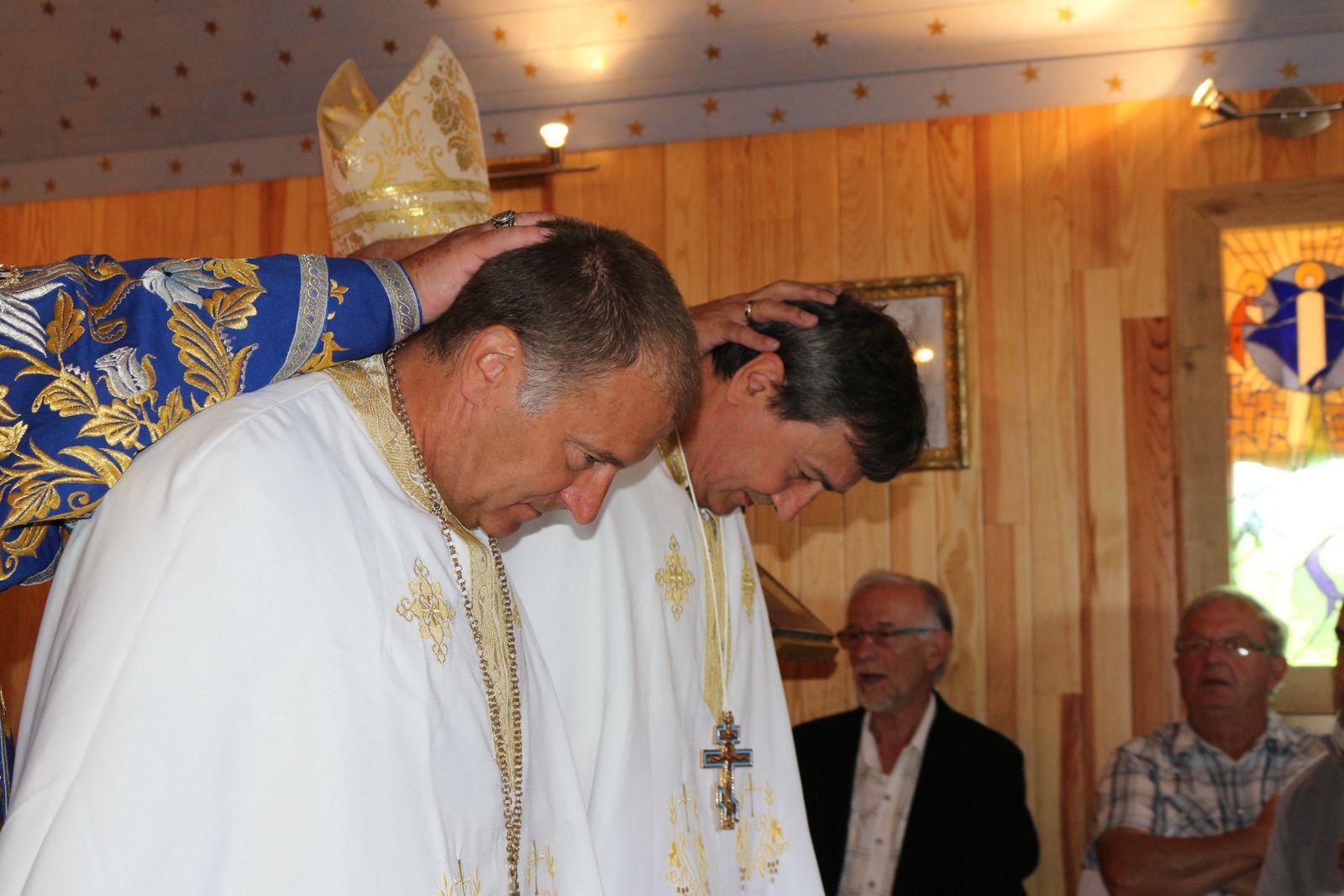 Ordination du Père Laurent et du Père Bernard