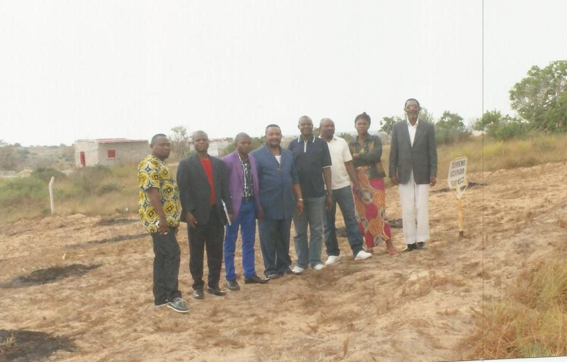 Construction de l'Eglise Orthodoxe d'Europe en Angola