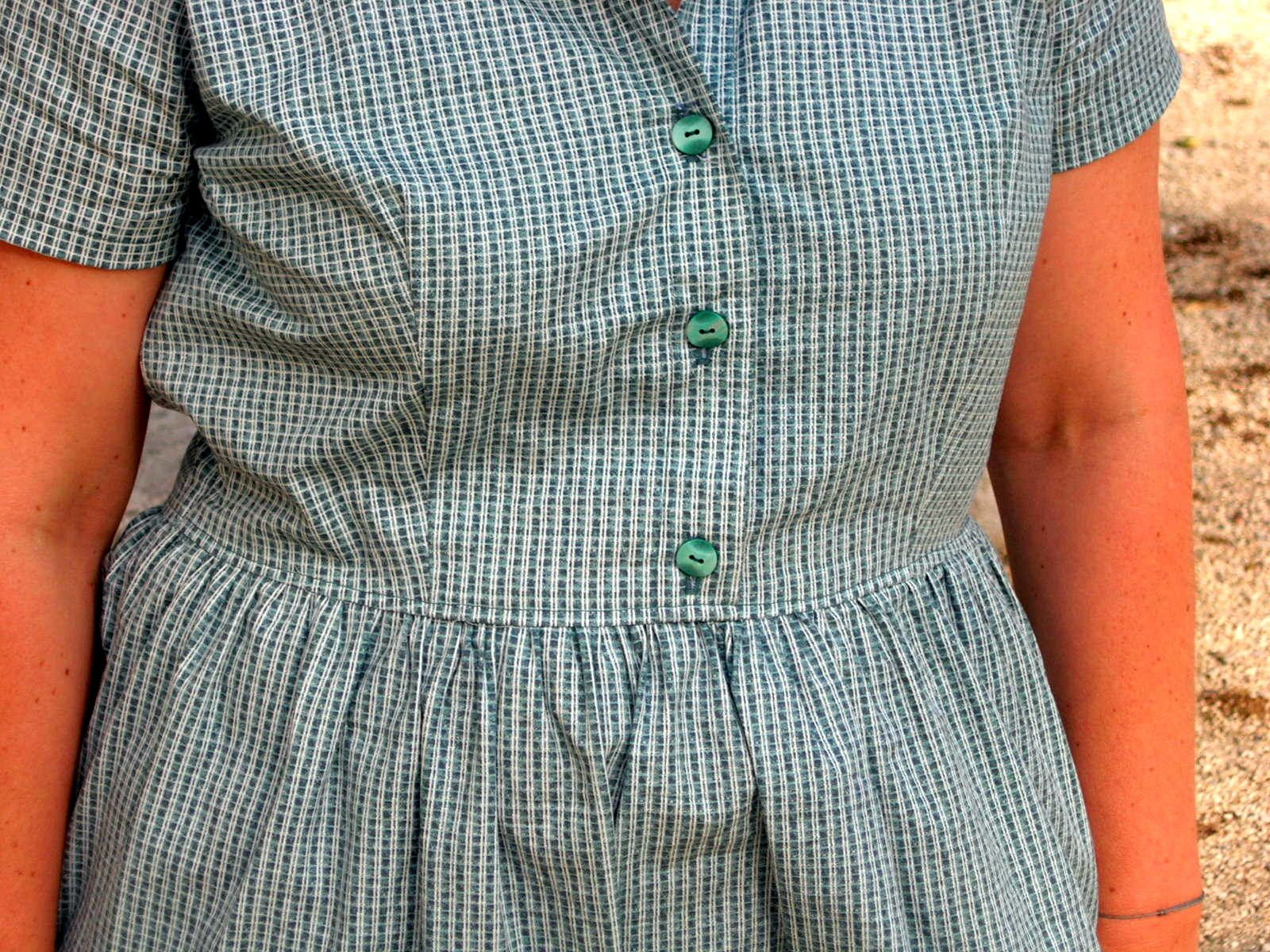 Cami dress à carreaux