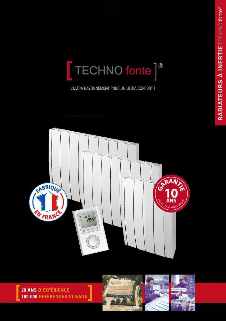 radiateur double inertie techno fonte radiateur ecotherm. Black Bedroom Furniture Sets. Home Design Ideas
