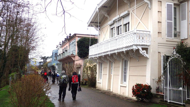 Jolies maisons du début du siècle dernier à Bougival