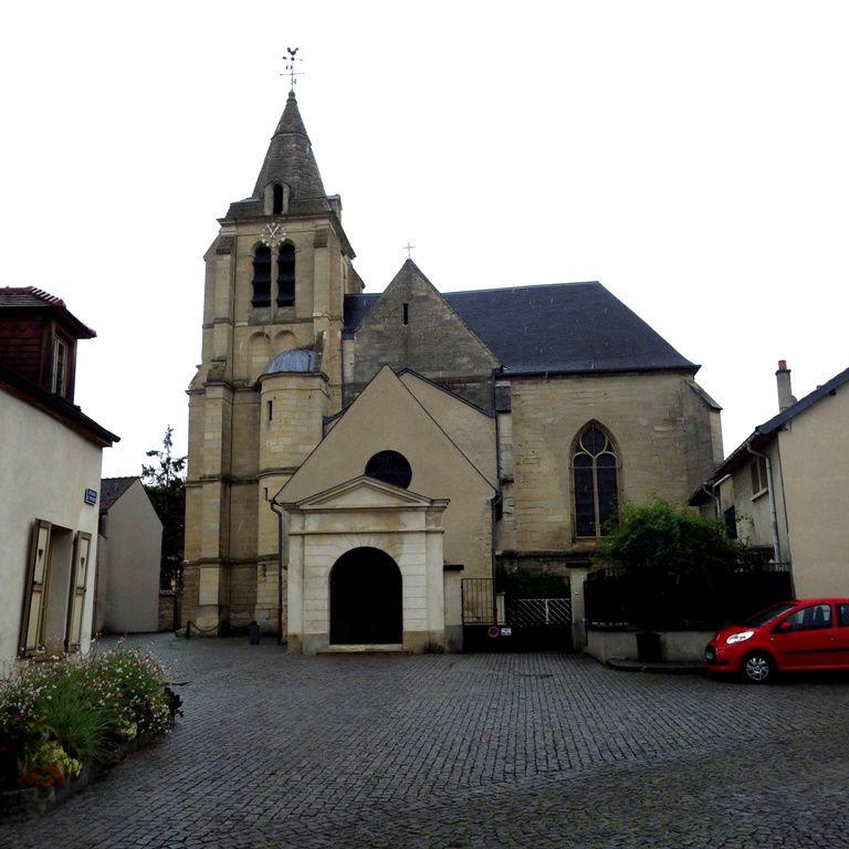 L'église de Mesnil le Roi