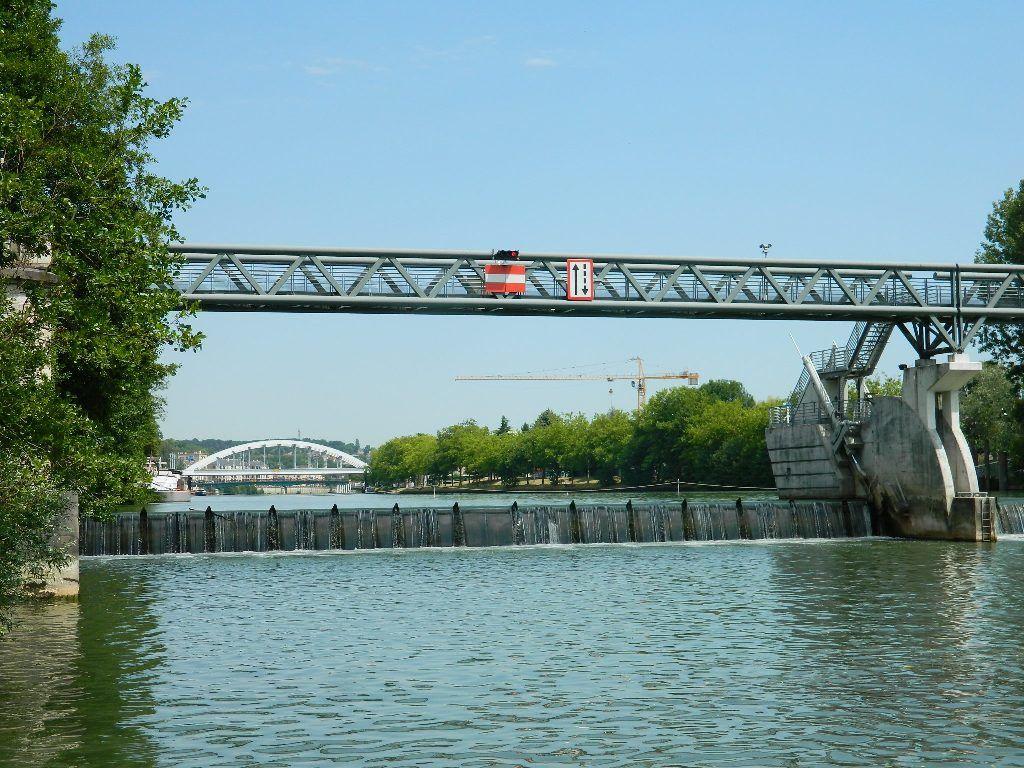 Le barrage de Pontoise et sa passe à poissons