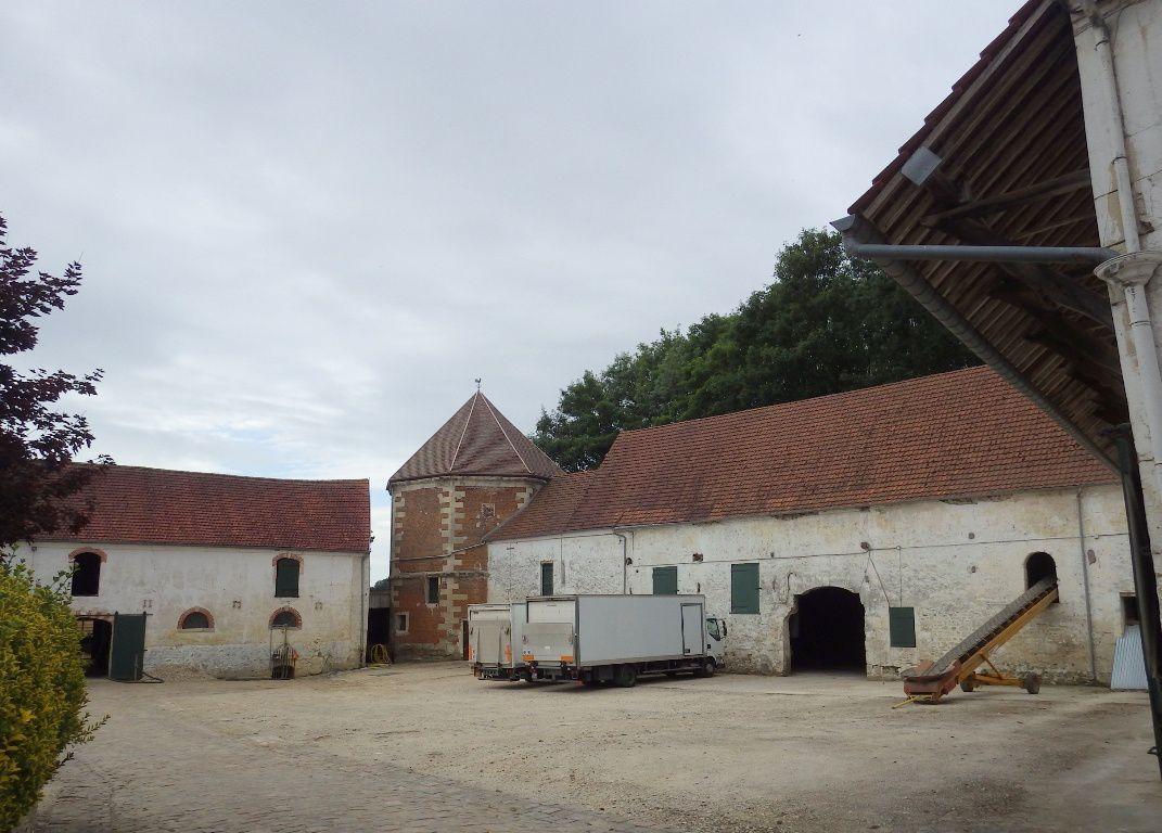 Vigny - Ferme de Beauséjour ( 17/18ème siècles), ferme typique du Vexin français