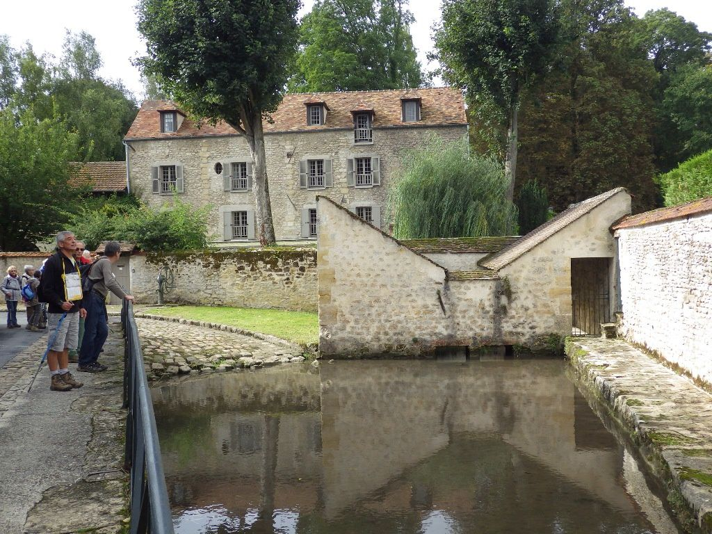 Le lavoir-abreuvoir de Théméricourt