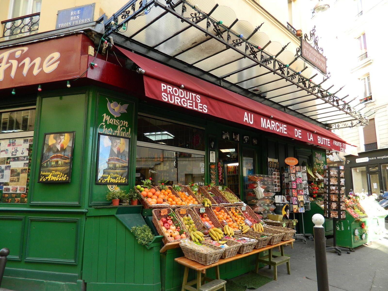 """L'épicerie du """"Fabuleux destin d'Amélie Poulain"""""""