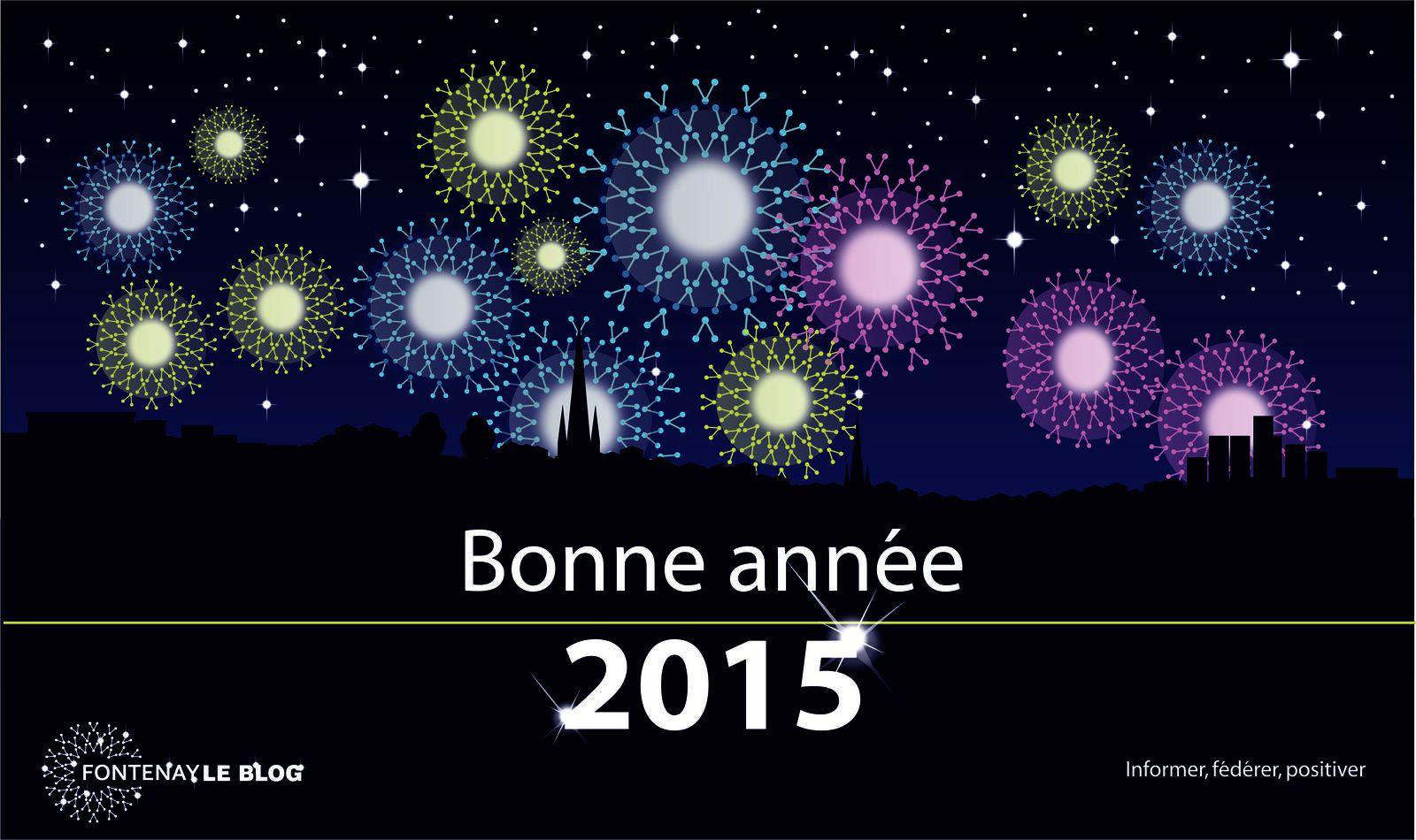 2015 : Bonne année à tous !