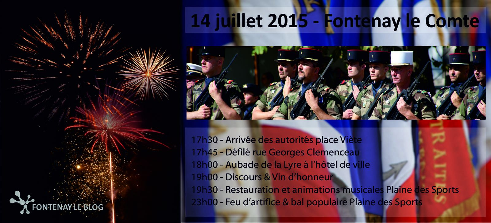 14 juillet à Fontenay ► demandez le programme
