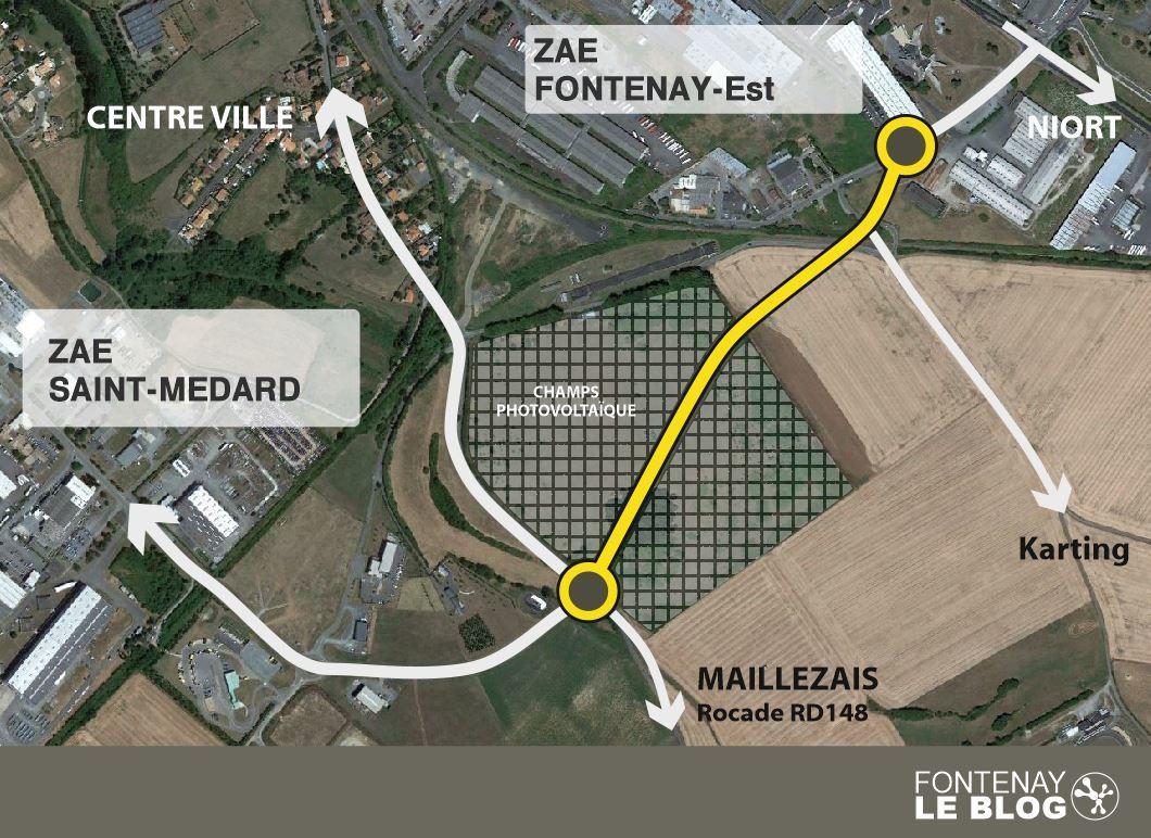 Barreau de liaison : genèse d'un projet routier et hommage à un industriel fontenaisien