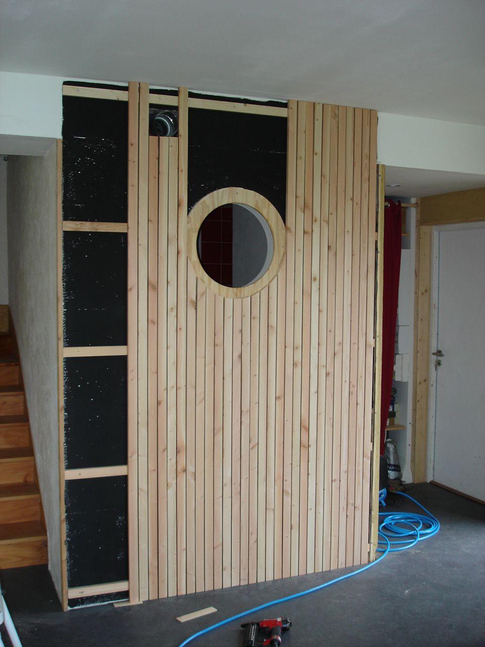 Bardage ajour en int rieur notre maison passive dans le - R mur maison passive ...
