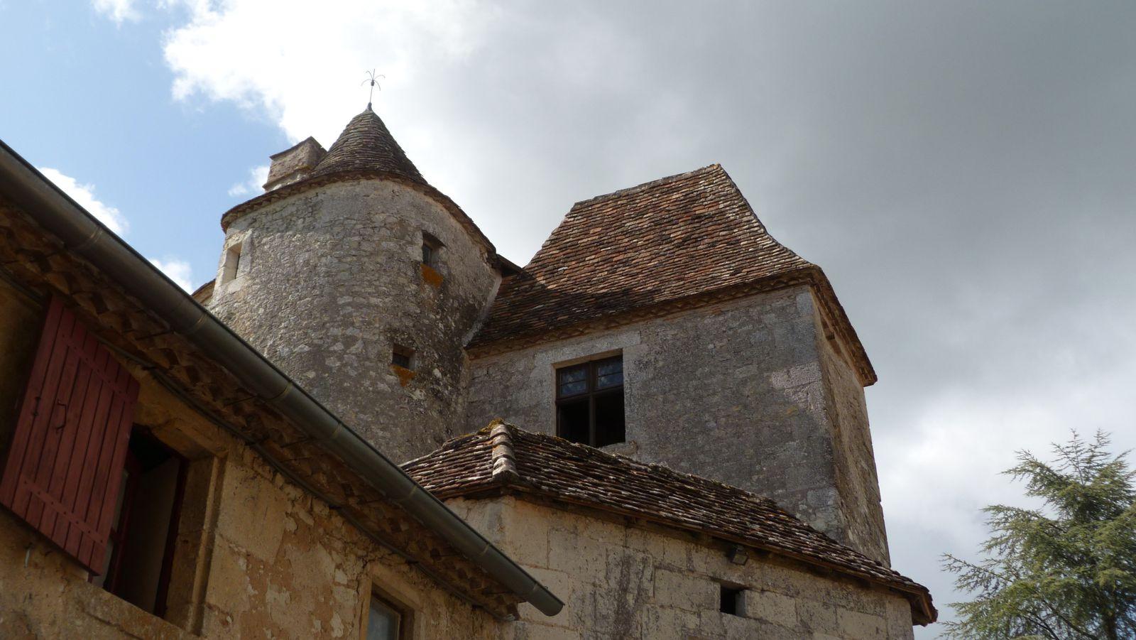 La tour de Montaigne.
