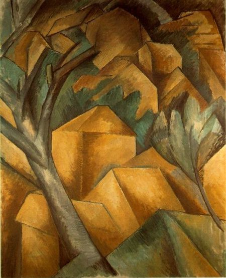 Georges Braque - Maison à l'Estaque - 1908