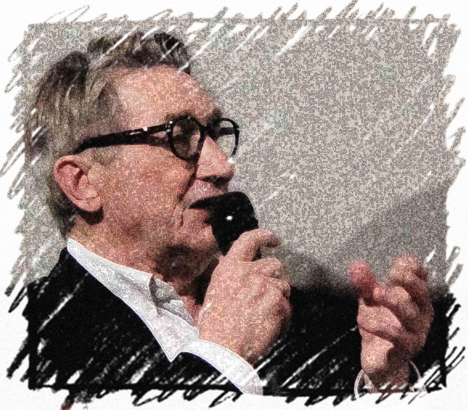 """Maurice Ulrich-Photo : Virginie, le Chêne parlant & Cie.  """"Pourquoi faut-il une presse libre ?""""-Salon du livre d'Arras"""