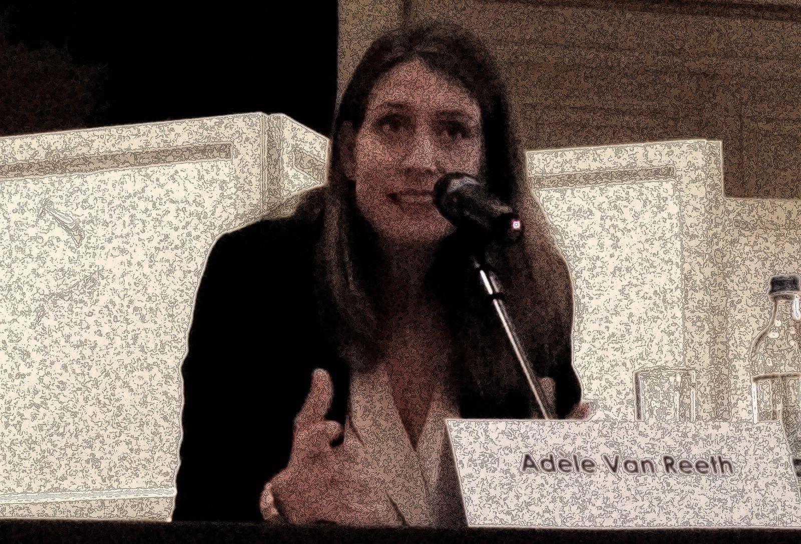 Adèle Van Reeth - Les mardis de la philo - Bruxelles-17-09-15-le Snobisme - Photo  Virginie le Chêne parlant