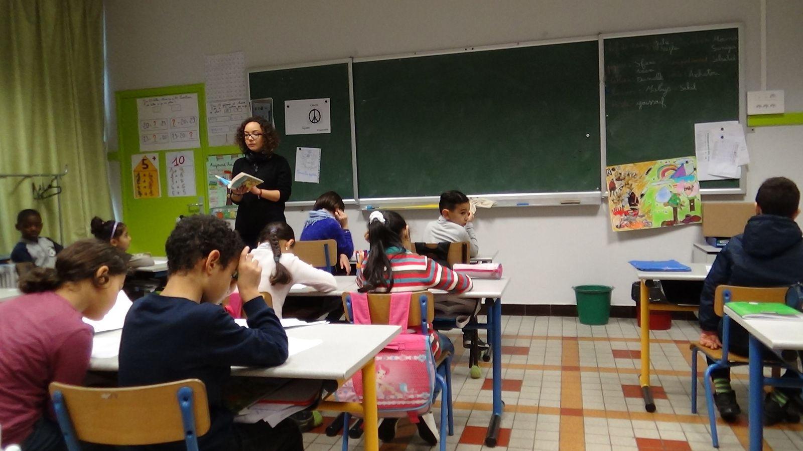 Rencontre avec les auteurs - entretien réalisé par les élèves de CE1 - CE2