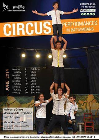 Cirque de Battambang programmation