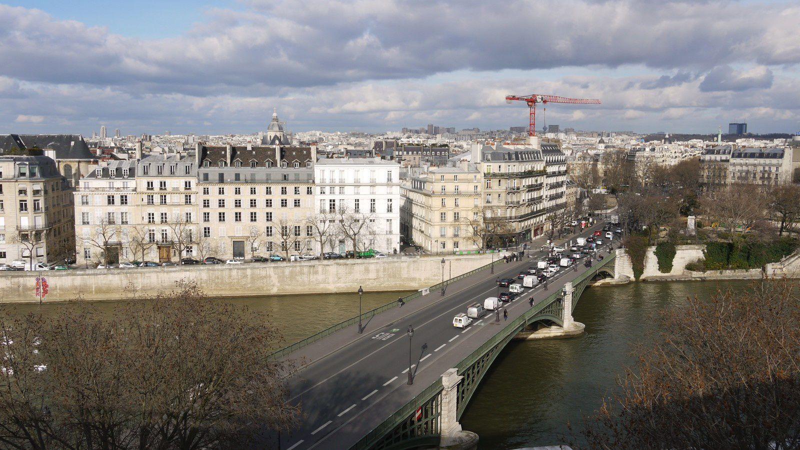 -Paris- La terrasse panoramique de l'Institut du Monde Arabe
