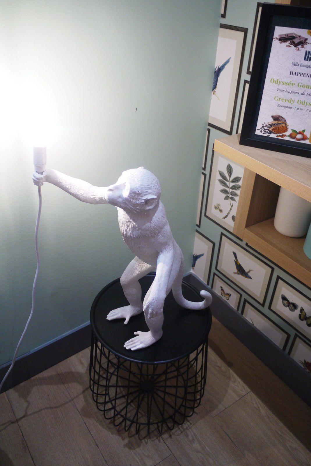 """J'ai craqué sur cette lampe """"singe"""" ! N'est-elle pas trop mignonne ?"""