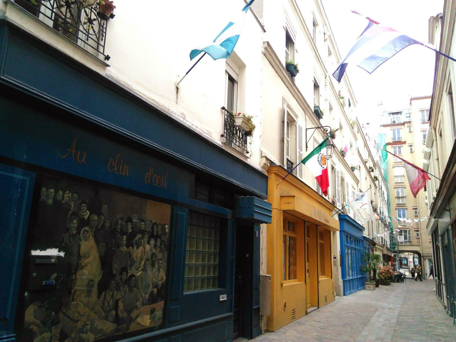 -Paris- Le passage Geffroy-Didelot aux Batignolles