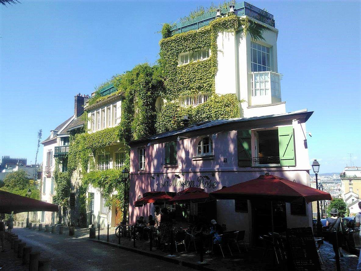 La célèbre Maison Rose