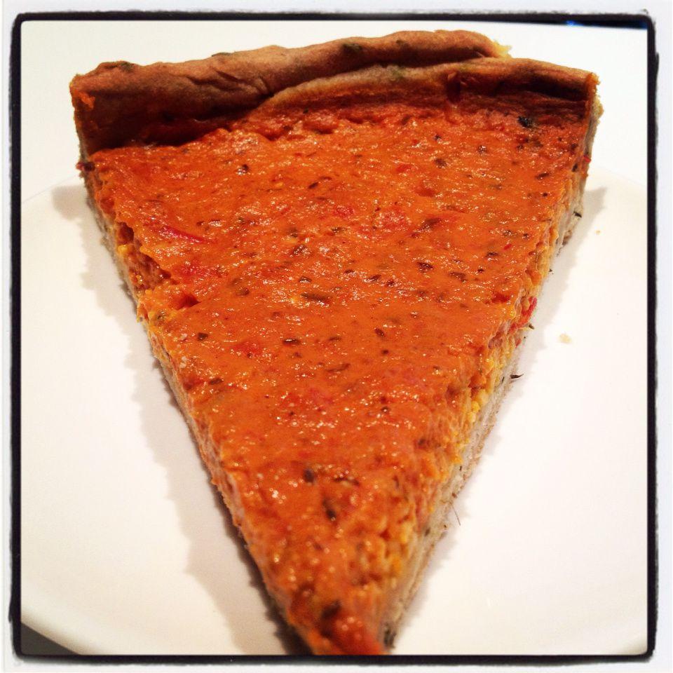 Ma tarte à la crème de tomate... Un délice étonnant à ne pas manquer !