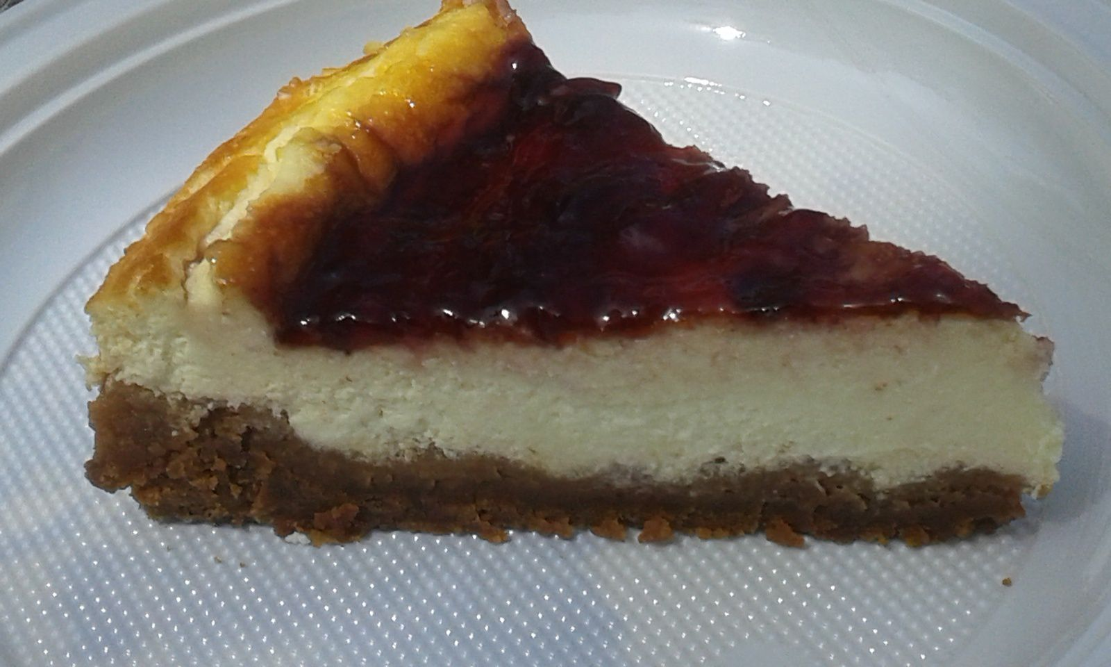 New-York Style Cheesecake - lesdouceursdenaty&sév.over-blog.com