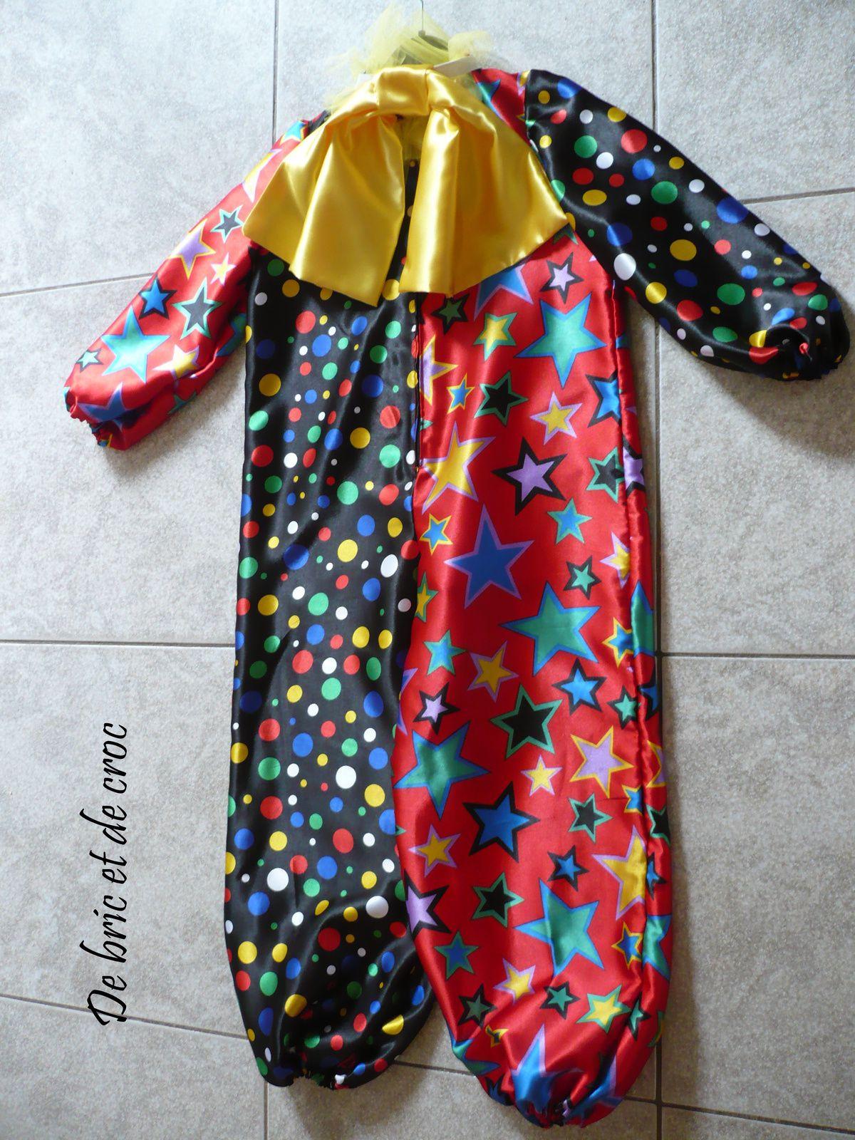 Costume de clown pour enfant de 6 ans