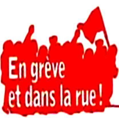 préavis de grève 23, 24, 25 et 27 juin 2014