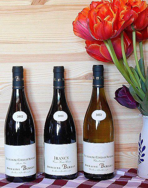 DOMAINE BERSAN: Nouvelles références en Bourgogne
